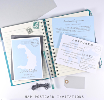 map save the dates