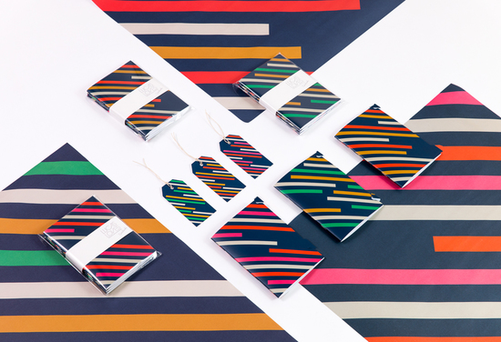 Graphic. Print. Stripes. Colourful. Colours