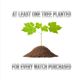 Plant trees for each watch sold