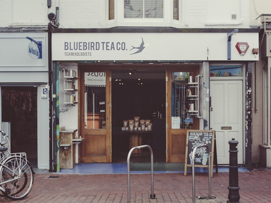 Bluebird Tea Co., Park St. Bristol