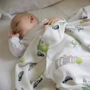 London Bamboo Swaddle Blanket