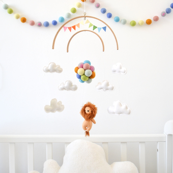 handmade neutral gender nursery mobiles