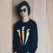 Kidult and Cosmonaut 'Yes' Sweatshirt