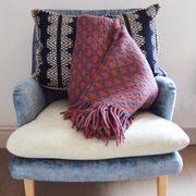 Geometric Wool Blanket
