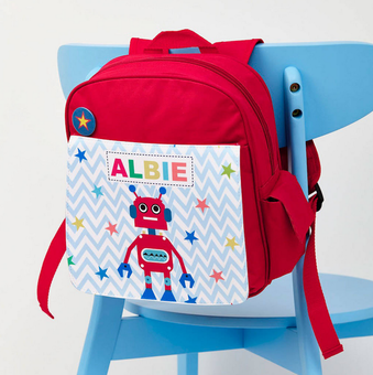 personalised childrens bag