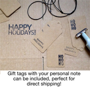 Add a personal note for the gift tag