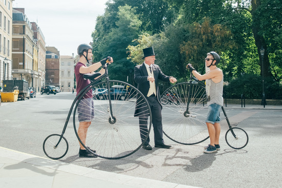 Cycle like a Victorian