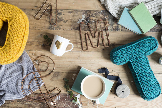 The Letter Loft - wire letters, secret message mugs, cake toppers and much more!