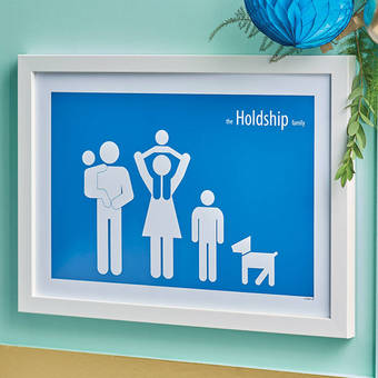 Personalised 'Family Poster'