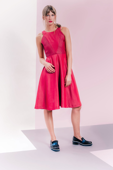LAGOM Lavinia Red Dress