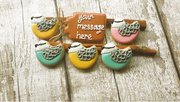 personalised bird biscuits gift