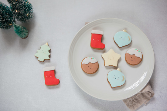 Cute Advent Biscuits