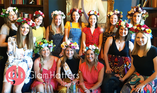 Glam Hatter's Flower Crowns
