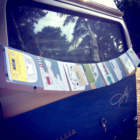 Campervan cards