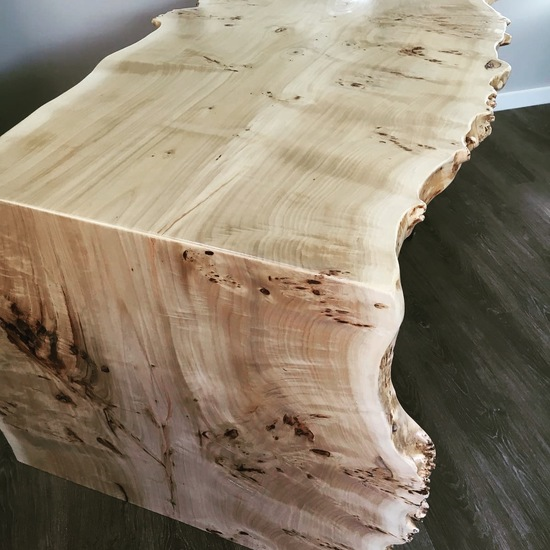 Ash Waterfall Desk