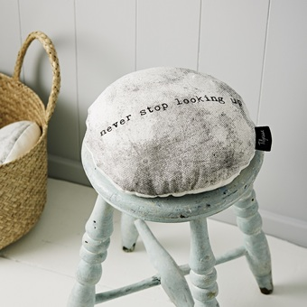 Linen Moon Cushion