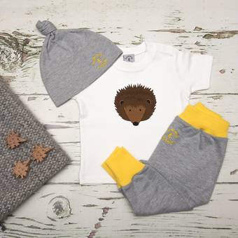 Baby gift set - t shirt, hat and leggings