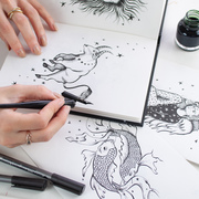 illustration calligraphy