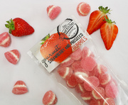 Strawberry and Prosecco gummies