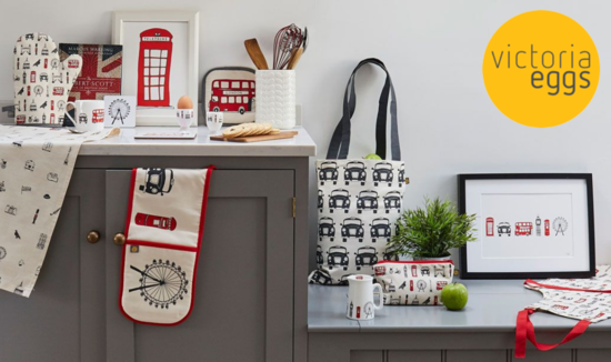 Victoria Eggs homeware and gifts made in Britain
