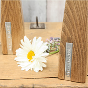 Personalised Wooden Vase