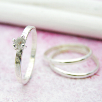 Personalised stacking rings for every occasion