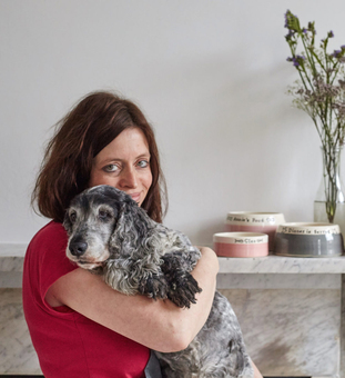 Chow Bella owner Claire Pearson-Cowell
