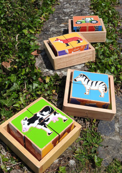 Lanka Kade animal and trasnport block puzzles