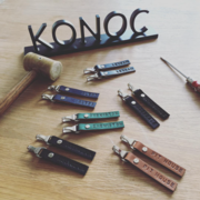 konoc personalised keyrings