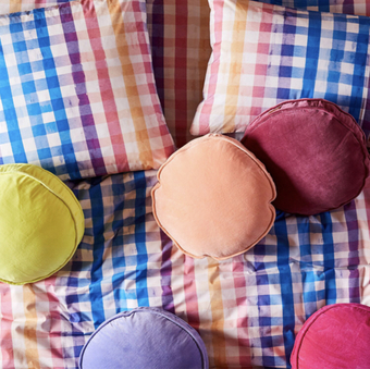 bright and colourful bedding by Australian brand Kip & Co