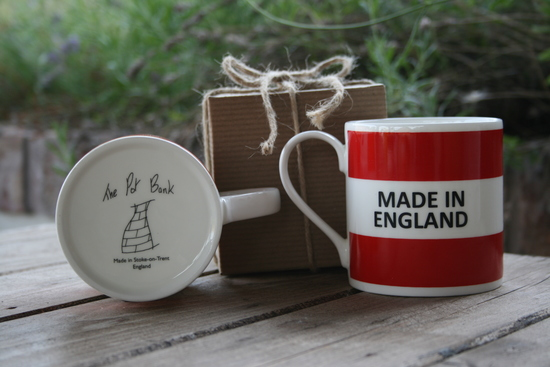 Fine bone China Mugs Made entirely in England