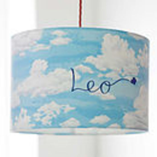 personalised clouds shade