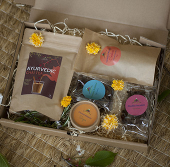 vegan and gluten free hampers.