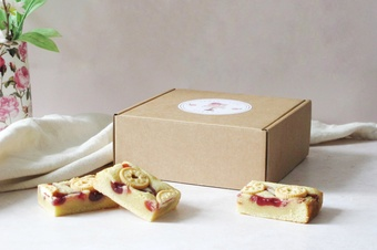 Lovely packaged baked gifts