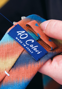 40 Colori - Made in Italy - Handcrafted Ties