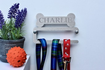 Personalised Dog Lead Hanger
