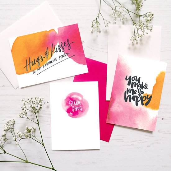 Happy cards by Paper Pipit