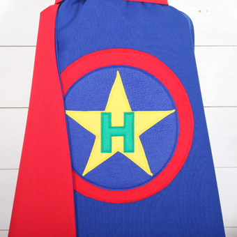 personalised dressing up hero capes