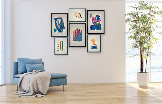 Gallery Wall of art by ForrSsa