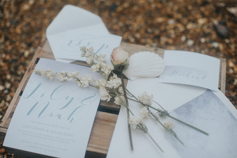 Items created for a styled shoot at Farbridge