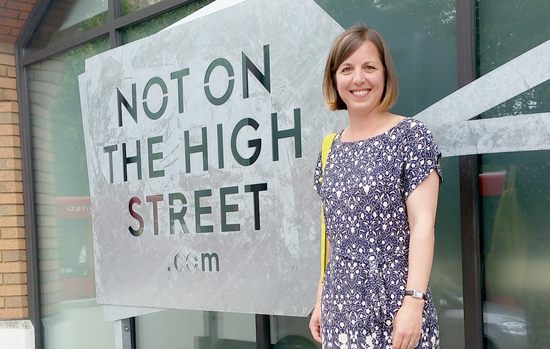 Ruth from Hello Ruth at Notonthehighstreet HQ