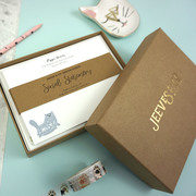 Jeeves & Co. Design Studio | Cat Attack Correspondence Cards