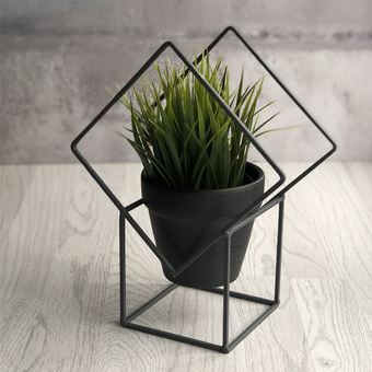 Diamond Frame Plant Pot