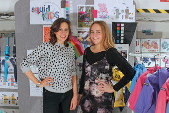 Co-founders Viviane Jageger and Emma-Jayne Parkes