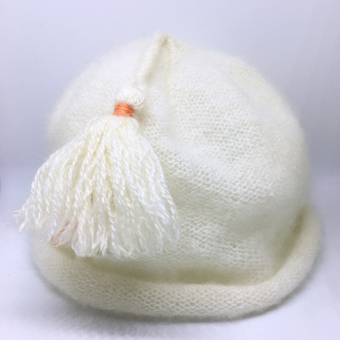 pure cashmere Purl English baby hat