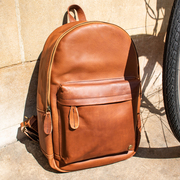 MAHI Leather Classic  Backpack in Vintage Brown