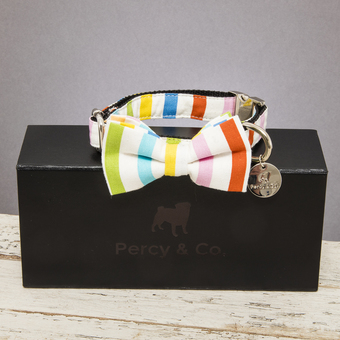 Percy & Co. The Thurlestone Bow Tie on Box