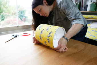 Lampshade making
