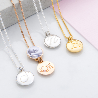 Sentimental Locket Necklaces