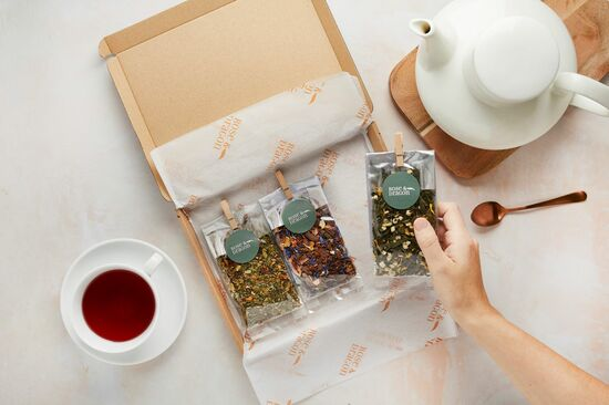 Rose & Dragon Tea Box